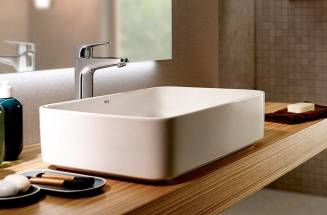 Grifería para lavabo con tecnología Cold Start