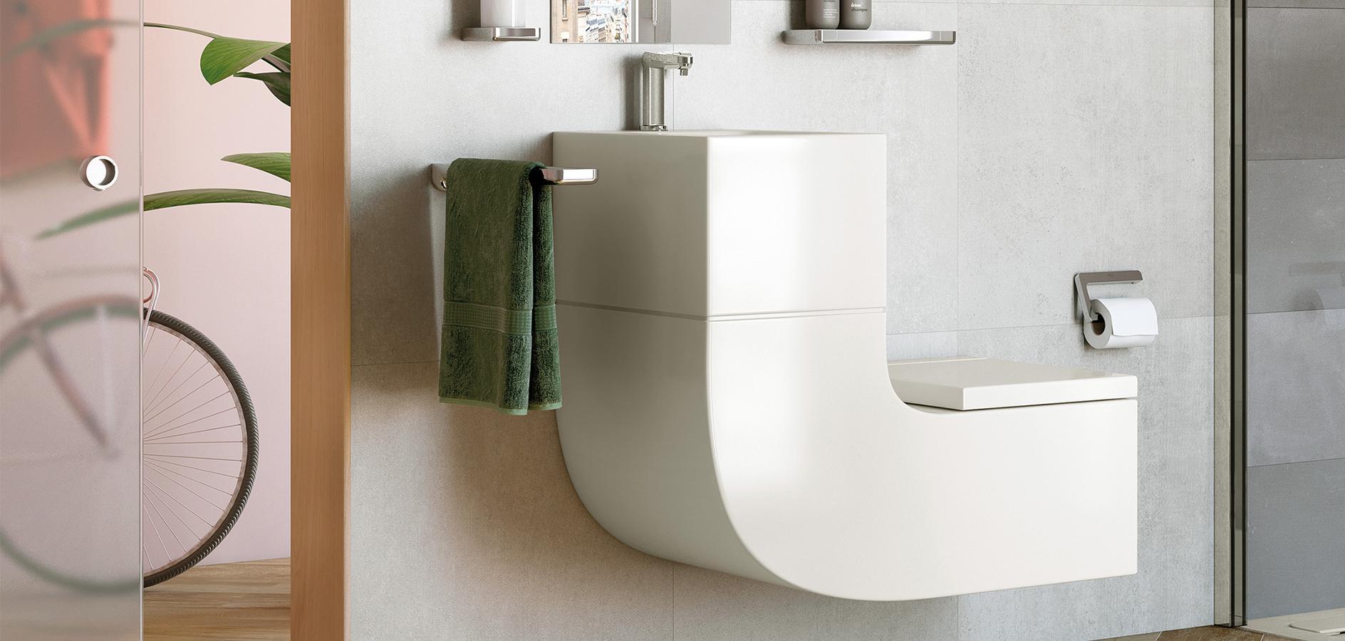 ideas de baño espacios pequeños fotos Ideas Para Baos Pequeos Menos Es Mucho Ms Roca Life